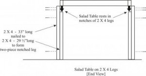 Salad Table #23